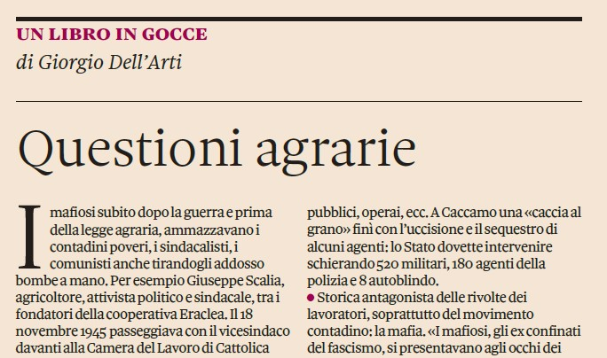 Questioni agrarie